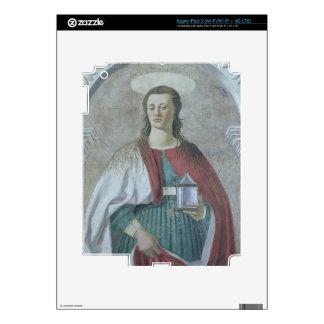 St Mary Magdalena, 1466 (fresco) (detalle) (véase  iPad 3 Skin