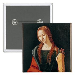 St Mary Magdalena, 1500-10 Pin Cuadrada 5 Cm