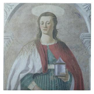 St. Mary Magdalene, 1466 (fresco) (detail) (see 62 Tile