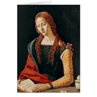 St. Mary Magdalene, 1500-10 Greeting Card