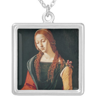 St. Mary Magdalene, 1500-10 Silver Plated Necklace