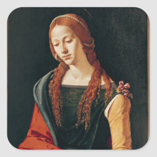 St. Mary Magdalene, 1500-10 Square Sticker