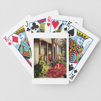 St. Mary Magdalene and St. Catherine of Alexandria Bicycle Playing Cards