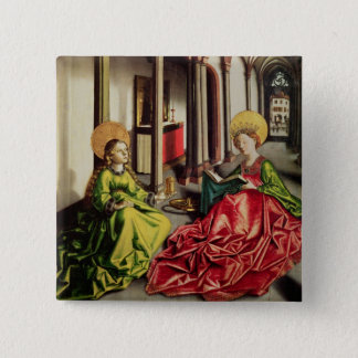 St. Mary Magdalene and St. Catherine of Alexandria Button