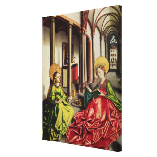 St. Mary Magdalene and St. Catherine of Alexandria Stretched Canvas Prints