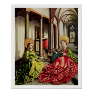 St. Mary Magdalene and St. Catherine of Alexandria Poster
