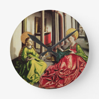 St. Mary Magdalene and St. Catherine of Alexandria Round Clock