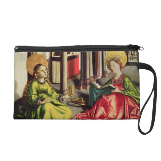 St. Mary Magdalene and St. Catherine of Alexandria Wristlet Purse