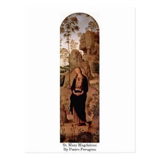 St. Mary Magdalene By Pietro Perugino Post Card
