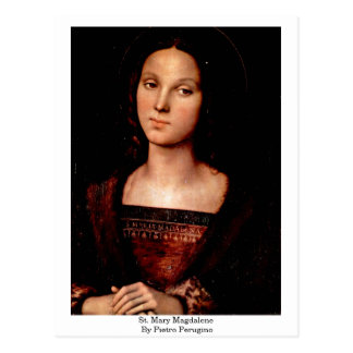 St. Mary Magdalene By Pietro Perugino Postcards