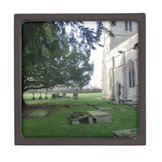 St Mary Magdalene Church, Battlefield, Shrewsbury Keepsake Box