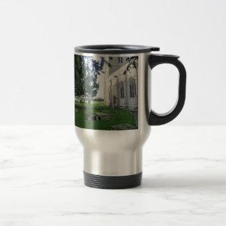 St Mary Magdalene Church, Battlefield, Shrewsbury Travel Mug