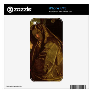 St. Mary Magdalene Decal For iPhone 4