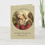 St. Mary Magdalene Feast Day July 22 Thank You Card