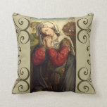 St. Mary Magdalene Feast Day July 22 Throw Pillow