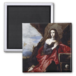 St. Mary Magdalene 2 Inch Square Magnet