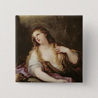 St. Mary Magdalene Renouncing the Vanities Button