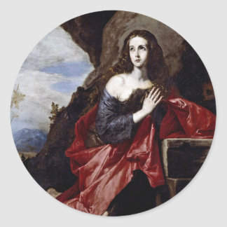 St. Mary Magdalene Classic Round Sticker