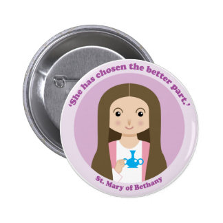 St. Mary of Bethany Button