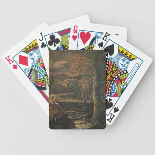 St. Mary of Egypt in the Wilderness Bicycle Playing Cards