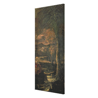 St. Mary of Egypt in the Wilderness Canvas Print