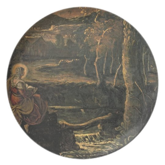 St. Mary of Egypt in the Wilderness Melamine Plate