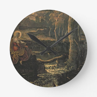 St. Mary of Egypt in the Wilderness Round Clock
