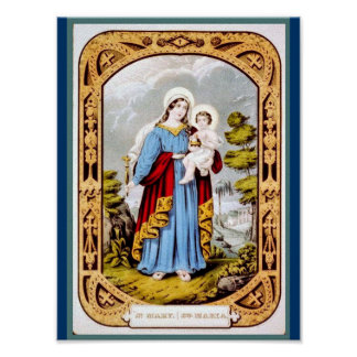 St Mary Print