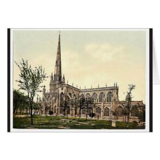 St. Mary Radcliffe, Bristol, England classic Photo Greeting Cards