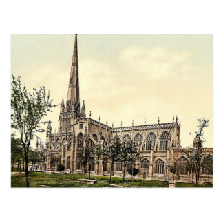St. Mary Radcliffe, Bristol, England classic Photo Postcard