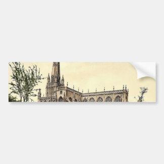 St Mary Radcliffe, Bristol, foto de la obra clásic Pegatina Para Auto