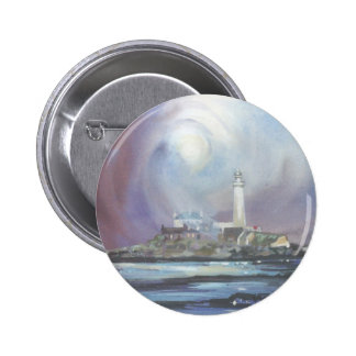 St Mary's Lighthouse Button Badge