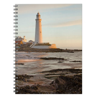 St Mary's Lighthouse England Notebook