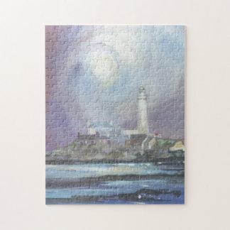St Mary's Lighthouse Jigsaw Puzzle