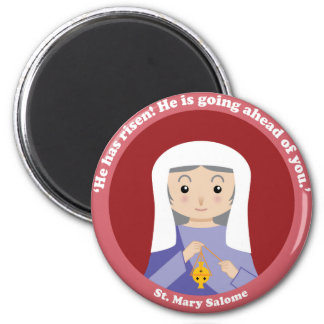 St. Mary Salome Refrigerator Magnets
