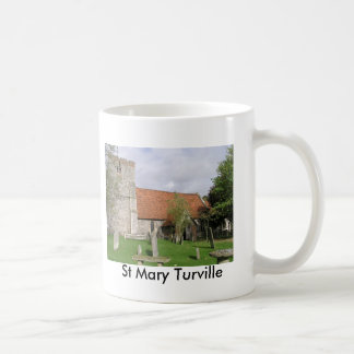 St Mary, Turville, Buckinghamshire Classic White Coffee Mug