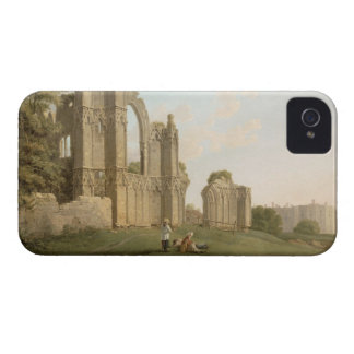 St Mary's Abbey, York, c.1778 (oil on canvas) iPhone 4 Case