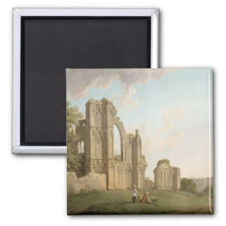 St Mary's Abbey, York, c.1778 (oil on canvas) Magnet