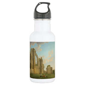 St. Mary's Abbey, York, England circa 1778 Water Bottle