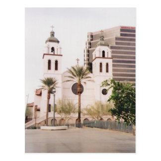 St. Mary's Basilica (Phoenix, Arizona) Postcard