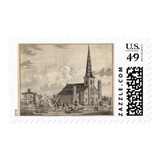 St Mary's Catholic Church Postage Stamps