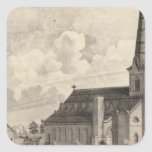 St Mary's Catholic Church Square Stickers