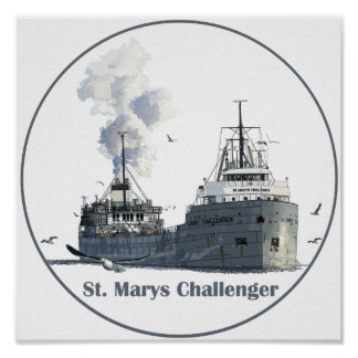 St. Marys Challenger Poster