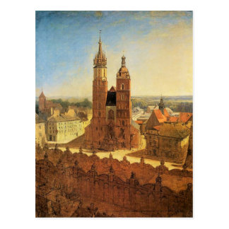 St. Mary's church by Jan Matejko Postcard