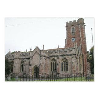 St Mary's Church Stogumber Somerset Card