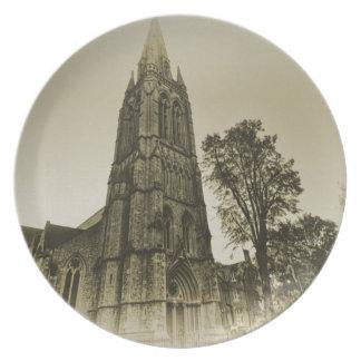 St Mary's Church Stoke Newington Melamine Plate