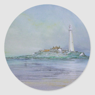 St Mary's Lighthouse England Stickers