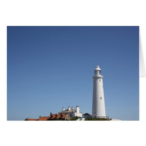 St Mary's Lighthouse in Whitley Bay Card