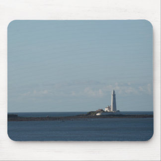 St. Mary's Lighthouse Mouse Pad