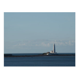 St. Mary's Lighthouse Postcard